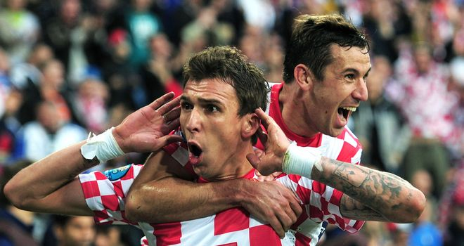 Mario Mandzukic: Caught the eye with his displays at Euro 2012