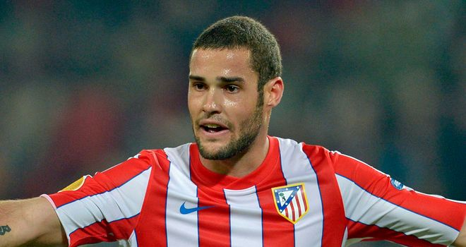Mario Suarez: Has agreed four-year contract extension at Atletico