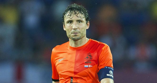 Mark van Bommel: Holland captain ready to pass the baton on to the new generation