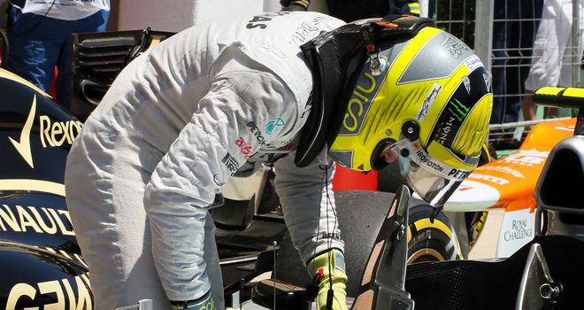 Nico Rosberg: Felt he could have been much higher up