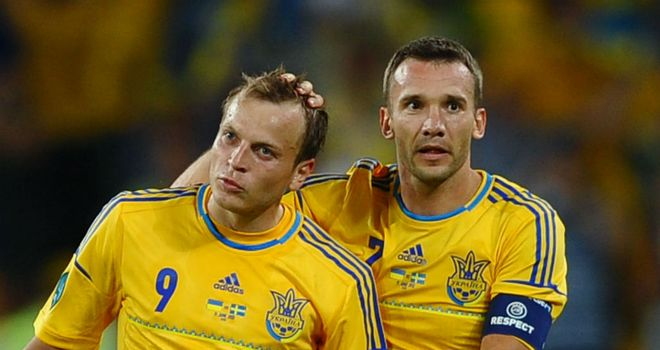 Ukraine: Romped to victory against Montenegro