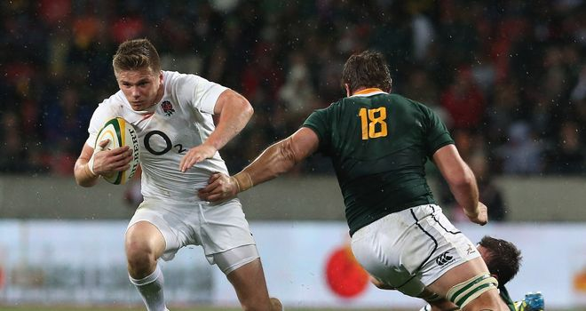 Owen Farrell: Is relishing the friendly rivalry with Toby Flood