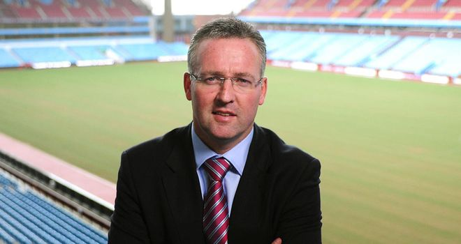 Paul Lambert: Ready to deal with the expectations at Aston Villa