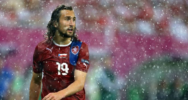 Petr Jiracek: On target again as Czechs saw off the co-hosts to qualify for the quarter-finals