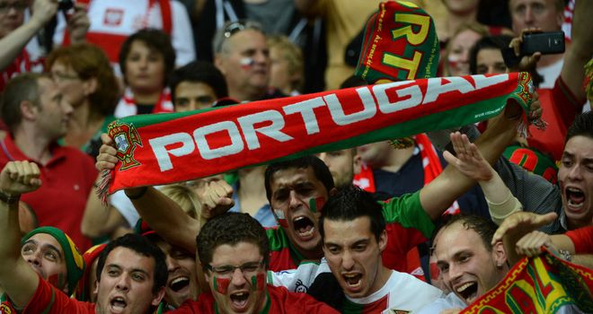 Portugal supporters saw their side edge out the Czech Republic to reach the semi-finals of Euro 2012