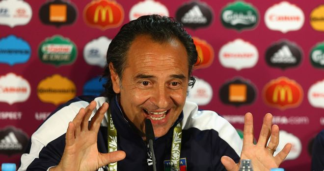 Cesare Prandelli: Not concerned by talk of a possible 'biscotto' between Spain and Croatia