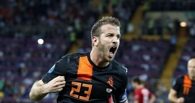 Rafael van der Vaart: The midfielder was critical of Holland's overall performance