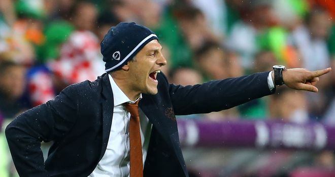 Slaven Bilic: Insists his side do not fear anyone in the tournament after an impressive 3-1 opening game victory over Ireland