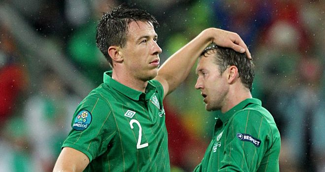 Shortlived campaign: Ireland suffered defeats in their opening two games