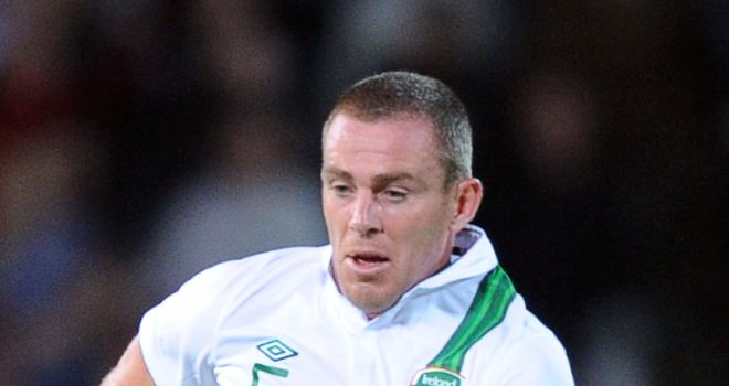 Richard Dunne: Continuing his international career with Republic of Ireland