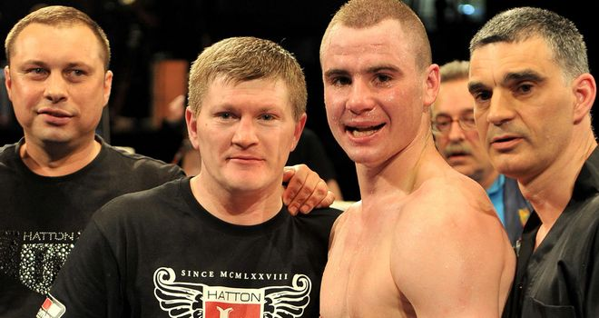 Sergey Rabchenko: Glad to have Ricky Hatton in his camp