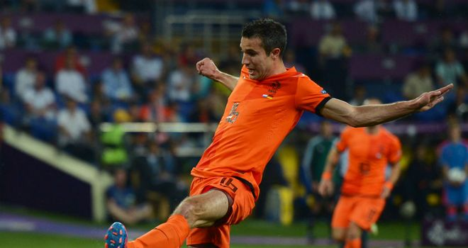 Robin van Persie: Struggled as Holland crashed out of Euro 2012 at the group stage