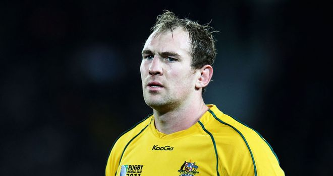 Rocky Elsom: Set to join Top 14 outfit Toulon