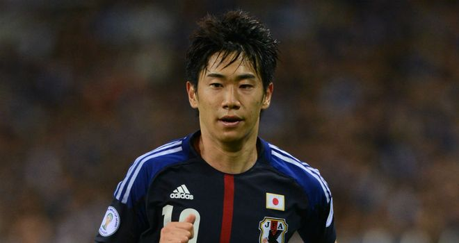Shinji Kagawa: Has been backed to succeed at Old Trafford by his new team-mate Ji-Sung Park