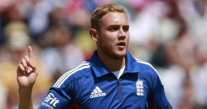 Stuart Broad: turns 26 on Sunday