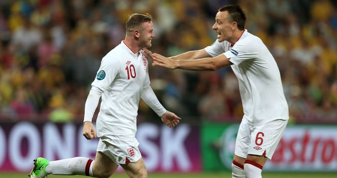 Wayne Rooney: Returned to England's first XI in style with the winner against Ukraine