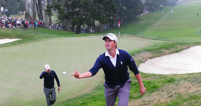 Simpson: overcame Olympic Club course