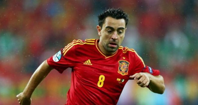 Xavi: Spain playmaker has rejected suggestions that the European champions have become boring