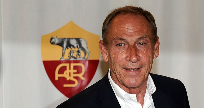 Zdenek Zeman: Roma will play usual system against Inter Milan