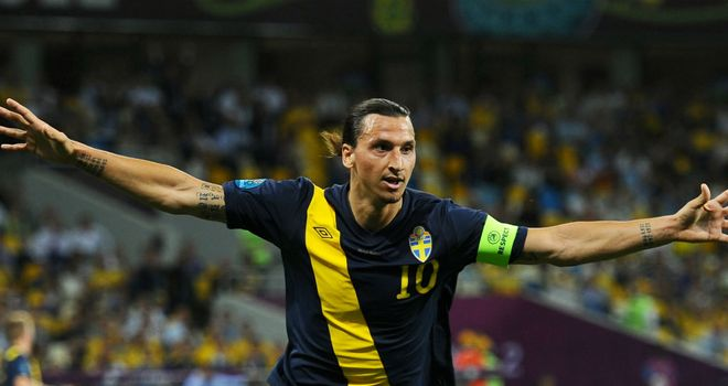 Zlatan Ibrahimovic: Plans to carry on playing for Sweden after Euro 2012