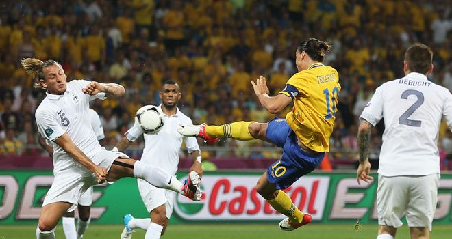 Zlatan Ibrahimovic: Opened the scoring with a spectacular strike