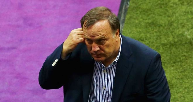 Dick Advocaat: Resting players for Europa clash