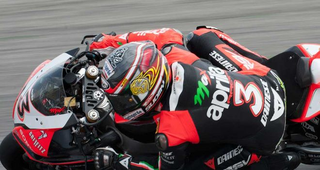 Max Biaggi: First superpole of year