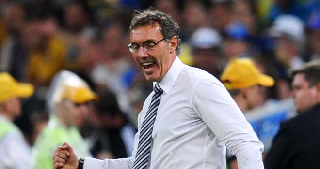 Laurent Blanc: France coach, and Tottenham target, has been urged to stay in his job by Louis Saha