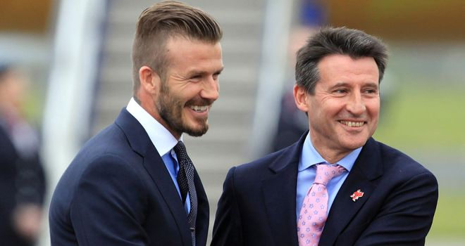David Beckham: Set to be offered London Olympics role by Lord Coe after Team GB snub