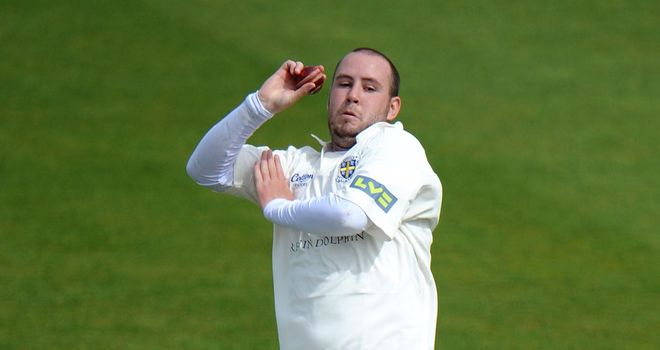 Chris Rushworth: wrapped up the Sussex tail