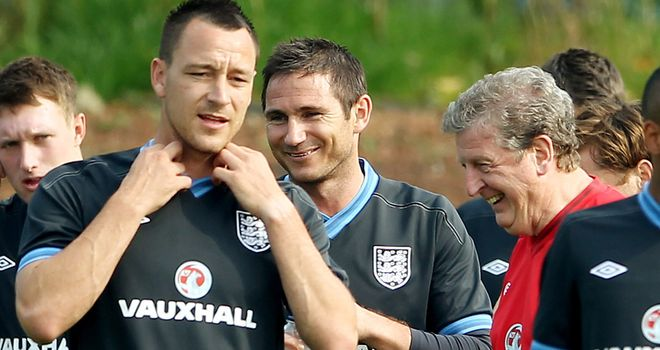 John Terry: Backed by England boss Roy Hodgson to prove he is the main man