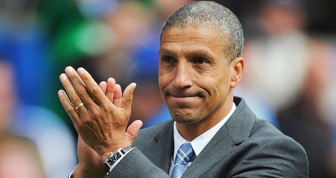 Chris Hughton: Back at Carrow Road and expected to be named as Norwich's new boss