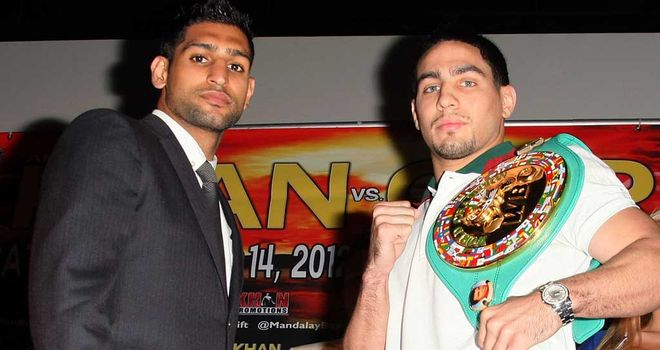 Khan and Garcia: Let the war of words begin