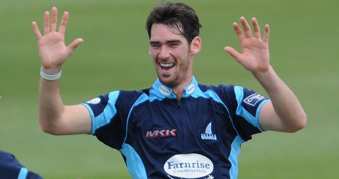 Chris Liddle: Four wickets in Sussex win