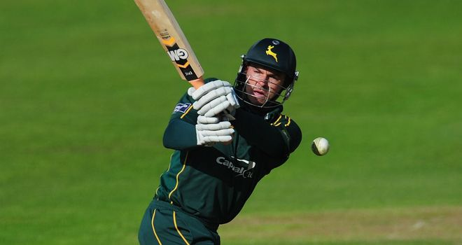 Michael Lumb: Smashed 57 from 41 balls in Nottinghamshire chase