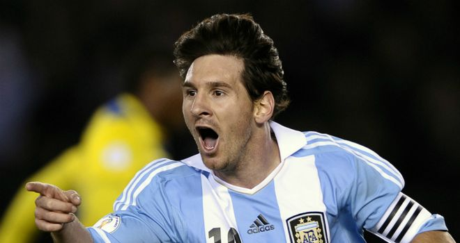 Lionel Messi: Scored a hat-trick as Argentina beat Brazil 4-3 in New Jersey