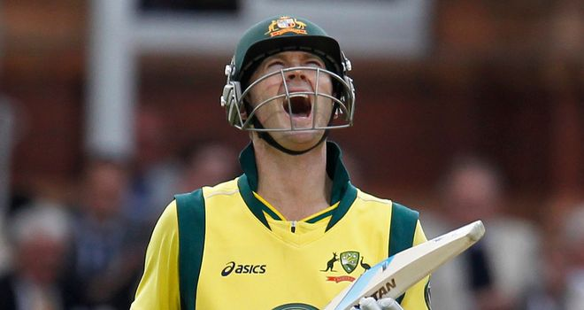 Michael Clarke: Sprained his ankle in training