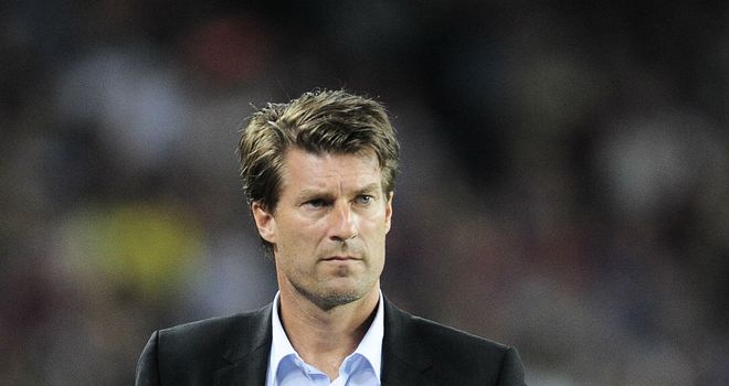 Michael Laudrup: Confirmed as the new Swansea boss on Friday in two-year deal