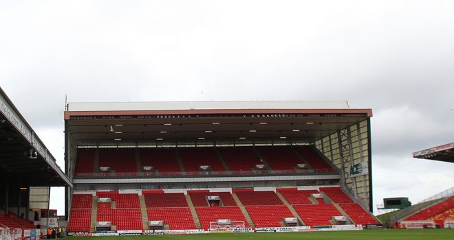 Pittodrie: Proposal to cut the club's debt