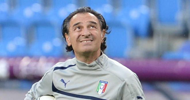 Cesare Prandelli: Hoping injured trio will be fit for semi-final