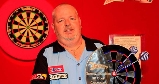 Robert Thornton: Defending UK Open title