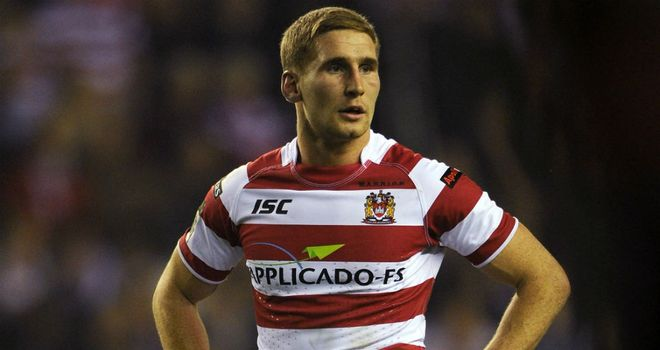 Sam Tomkins: passionate to represent his country in the Origin series