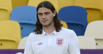 Andy Carroll: Hoping to go to Brazil with England