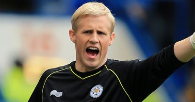 Kasper Schmeichel: Kept clean sheet for Foxes