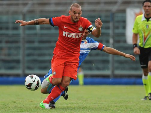 Wesley Sneijder: Expected to sign for an English club