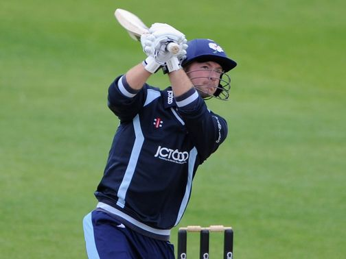Adam Lyth: Hit 78 off 51 balls