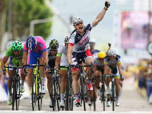 Andre Greipel: Third win at the Tour
