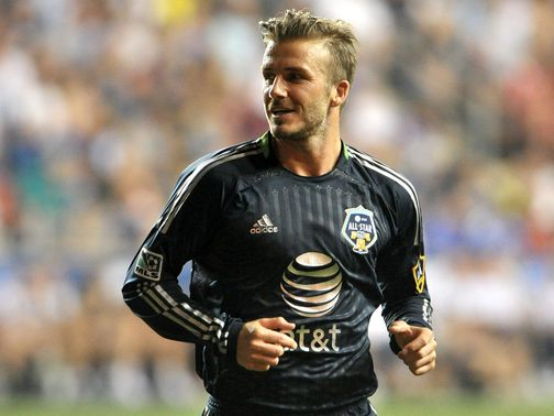 Beckham: Denied he is planning a move to Australia
