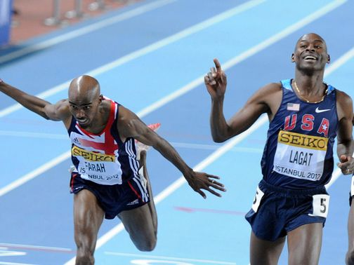 Lagat: Hoping to get the better of Farah