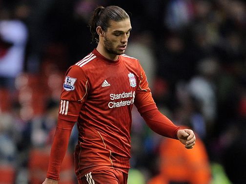 Andy Carroll: Happy at Anfield